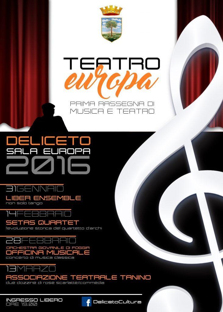 Teatro europa - Rassegna di musica e teatro