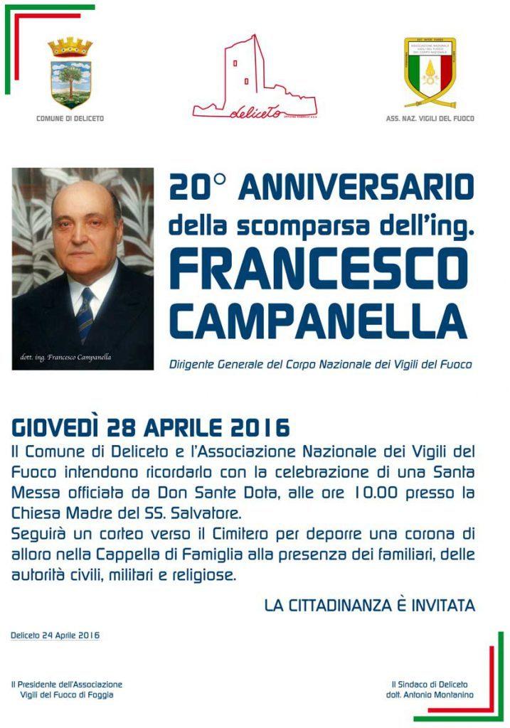 Anniversario della scomparsa di Francesco Campanellamemoria-campanella