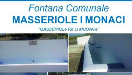 Manifesto inaugurazione fontana
